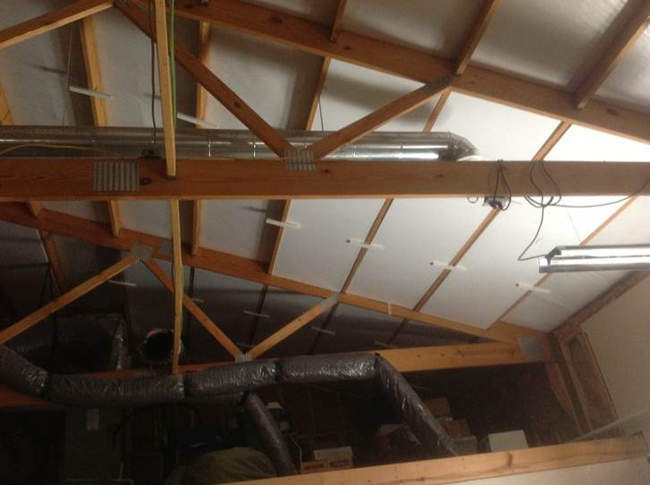 Foam Insulation For Garages Geofoam, How To Insulate Garage Roof Trusses