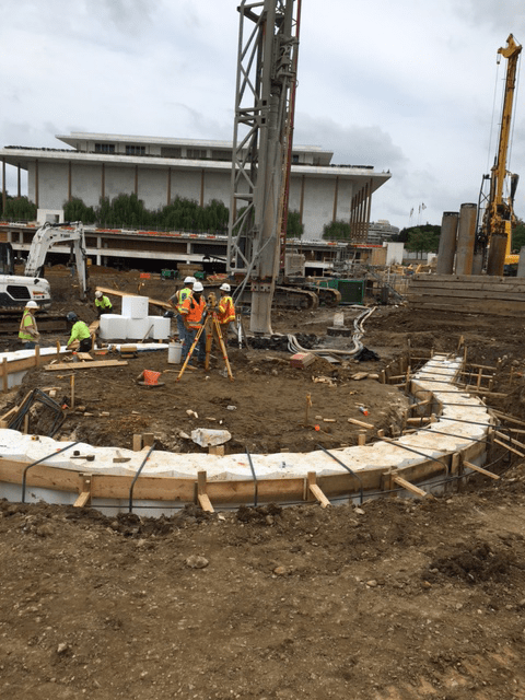 Secant Pile Foundation