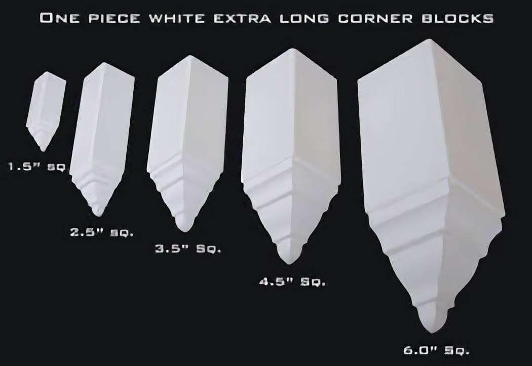 Crown Molding Corner Blocks