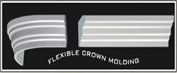 Flexible Crown Molding