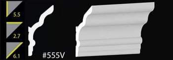 5.5.5 Vaulted Crown Molding