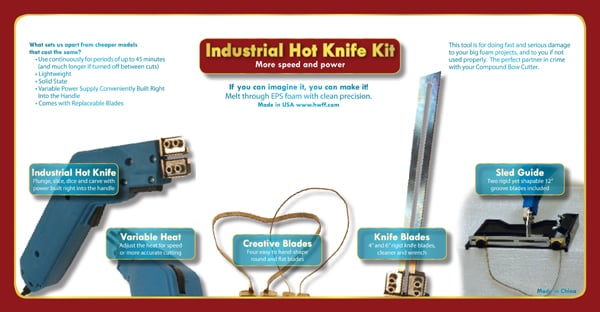 Industrial Hot Knife Kit
