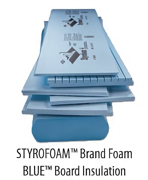 STYROFOAM Brand Foam Blue Board Insulation
