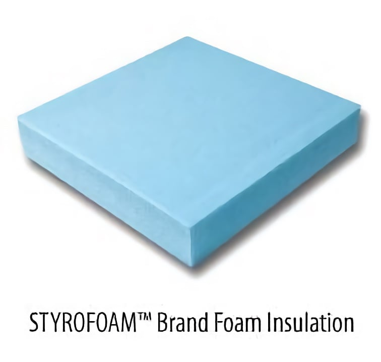 STYROFOAM Brand Foam Block Insulation