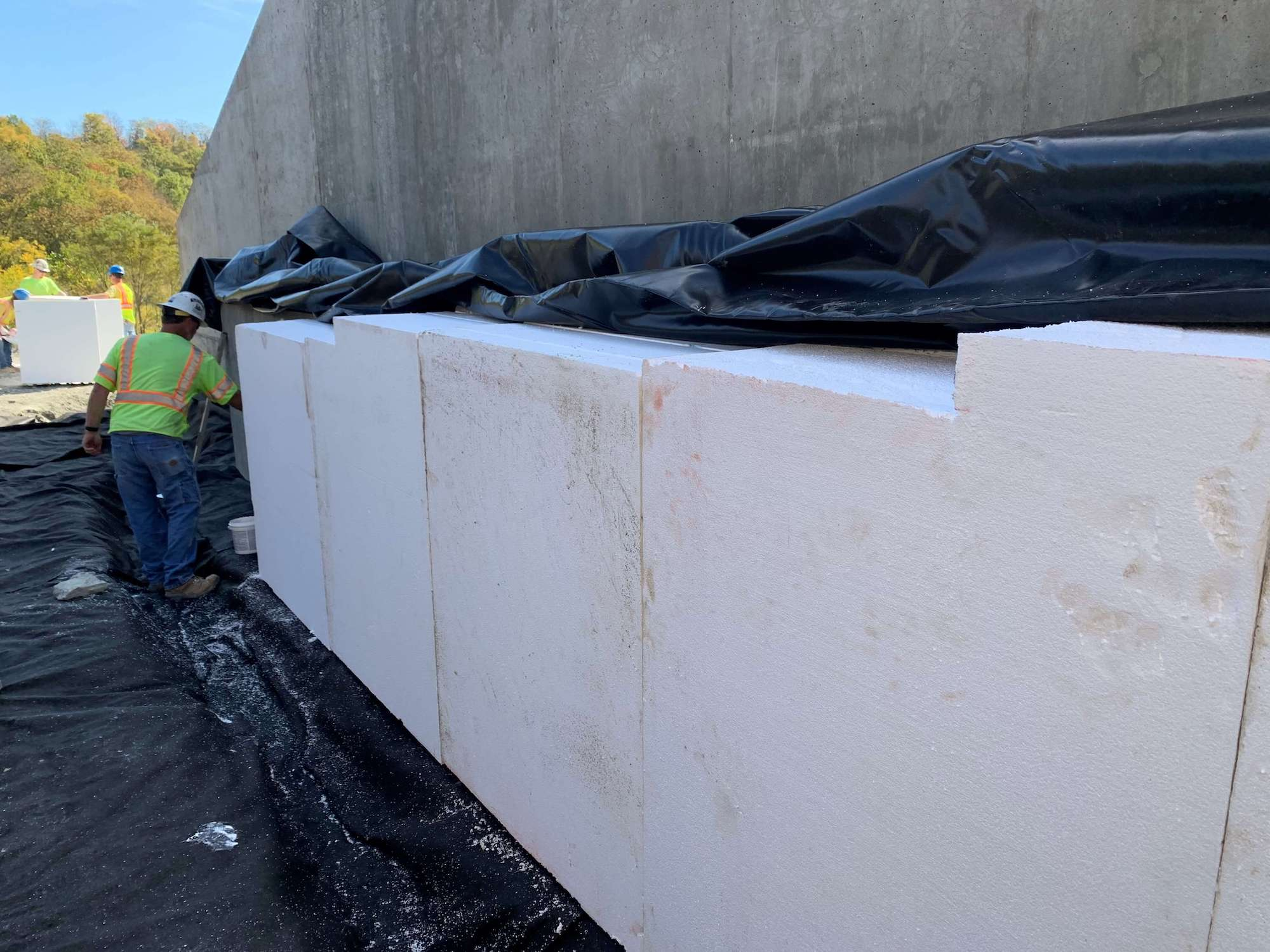 02 Elasticized Polystyrene Used in Bridge Construction
