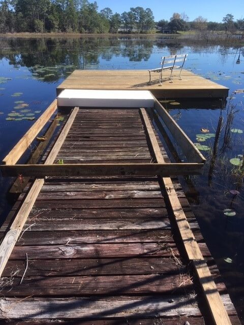 4 Floating Dock Upgrade